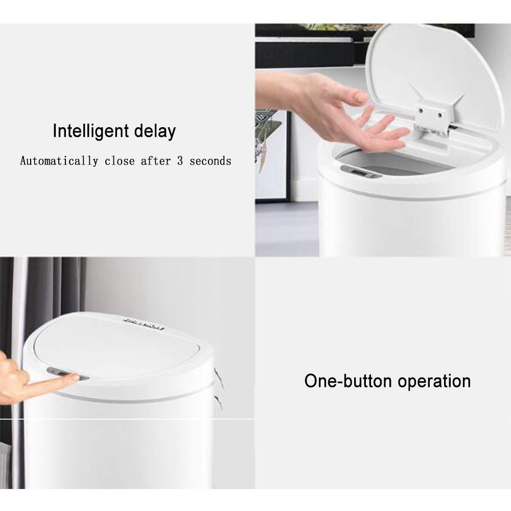 Automatischer Touch-Free Sensor Trash kann Smart Garbage 0,3 Zweite Induktionsabrechnung für Küchenbad-Büro Küchen-Abfalleimer