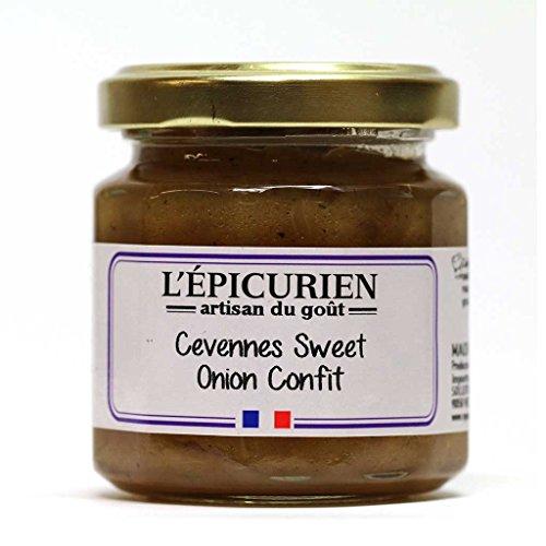 L'Epicurien, Sweet Onion Confit, 3.9oz (Confit Jar)