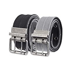 Aeropostale men's belts are carefully crafted with unique materials to provide you with the best possible quality while also giving you a cool and casual look to match with any of your outfits.