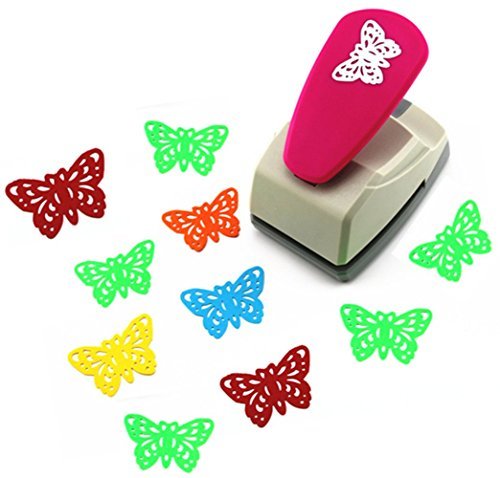 TECH-P Creative Life Crafts Engraving Hole Punch 2-Inch -DIY Paper Punch for Card Scrapbooking Craft Punch Embossing Border School Supplies. ()