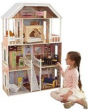 Ofertas del día - KidKraft 65023 Casa de muñecas de madera Savannah