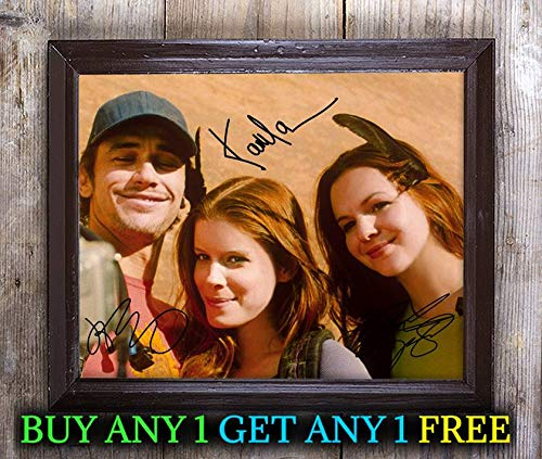 James Franco Kate Mara Amber 127 Hours Autographed 8x10 Photo Reprint #95 Special Unique Gifts Ideas for Him Her Best Friends Birthday Christmas Xmas Valentines Anniversary Fathers Mothers Day