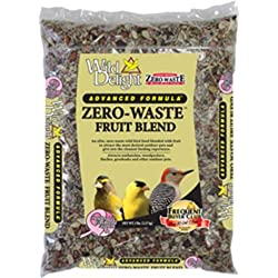 Wild Delight Zero-Waste Fruit Blend Bird Food, 5 Lb