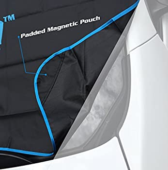 Icescreen Magnetic Windshield Frost & Snow Cover, Standard Large, Black 2