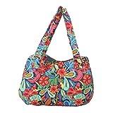 Quilted Cotton Handle Bags Shoulder Bag (Garden)