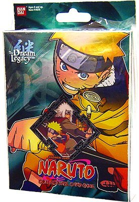 (Naruto Collectible Trading Card Game The Dream Legacy Theme Deck Starter Set 2)