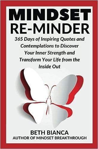 Mindset Re-Minder: 365 Days of Inspiring Quotes and ...