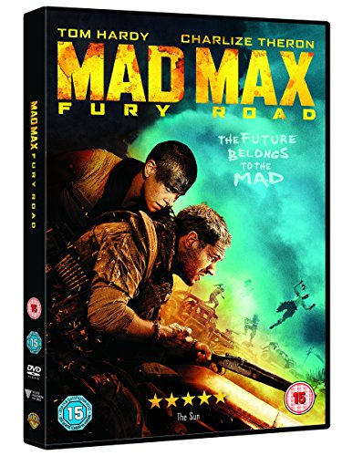 mad max fury road dvd 2015 amazon co uk tom hardy charlize