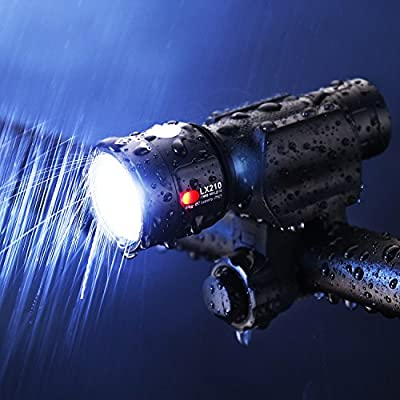 INBIKE Bike Light Flashlight Rechargeable USB 18650 Battery 950 Lumens Bright Cree XM-L2 U3 LED