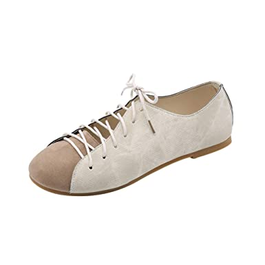 Sandalias para Mujer,RETUROM Calzado de Punta Redonda con ...