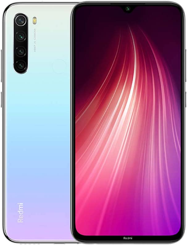 Xiaomi Redmi Note 8 RAM 4GB ROM 64GB Android 9.0 Versión Global Blanco