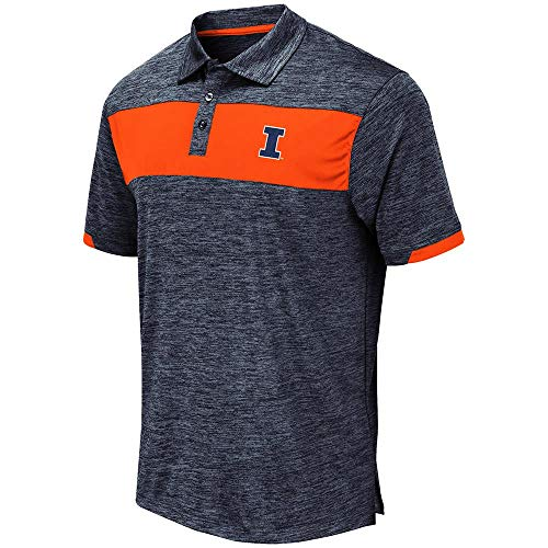 - Mens Illinois Fighting Illini Nelson Polo Shirt - 2XL