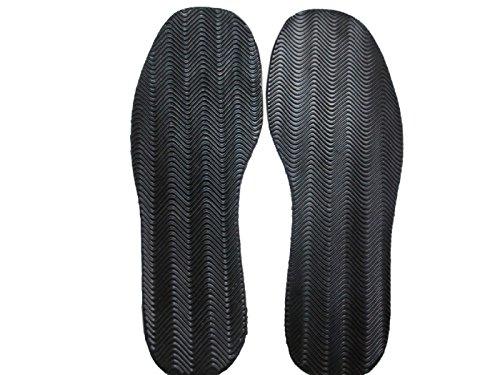 LIPOVOLT® 1 Pair Anti Slip Rubber Glue on Full Soles DIY Shoes Repair Supplies