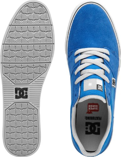 Dc Chaussures Mens Dc Chaussures Tonik S - Chaussures - Homme - Us 12 - Bleu Bleu / Gris Us 12 / Uk 11 / Eu 46