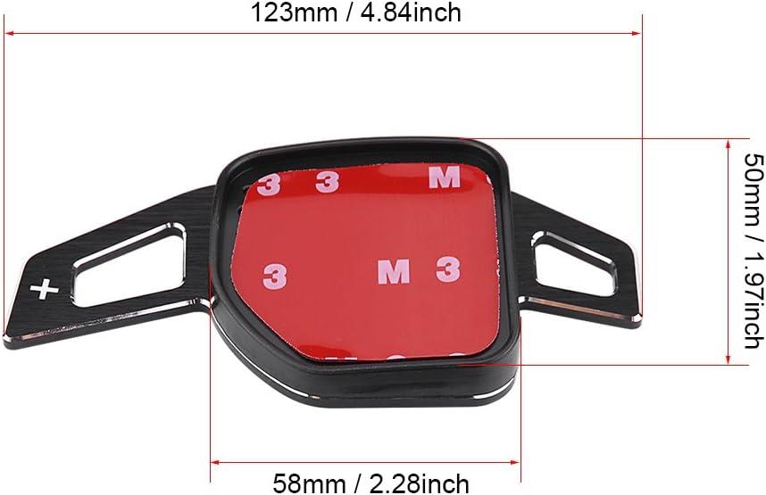 Euopat Steering Wheel Shift Paddle,1 Pair Of Car Steering Wheel Shift Paddle Blade Shifter Extenders Aluminum Alloy For Audi A3 A4L A5 S3 S4 Q2 Q5 Q7 TT TTS