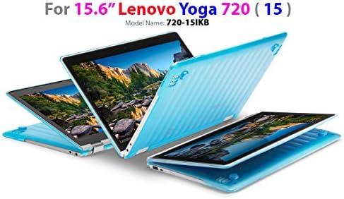 mCover Ligero Funda Dura para Lenovo Yoga 720-15IKB - Portátil Convertible DE 15,6