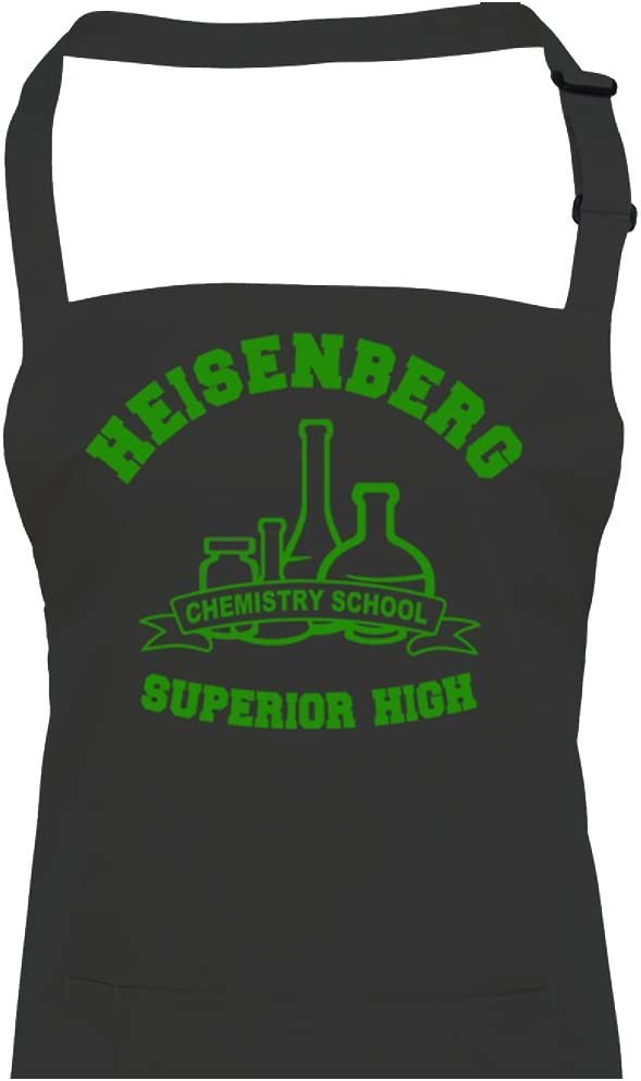 HEISENBERG-CHEMISTRY-SCHOOL-SUPERIOR-HIGH-kitchen-unisex-apron-0