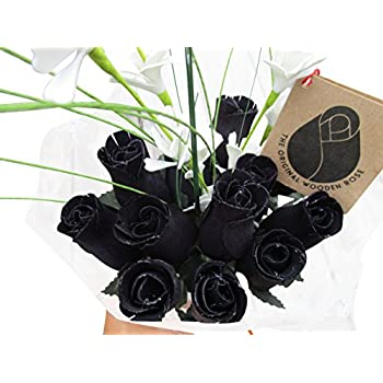 amazon com the original wooden rose halloween all black gothic