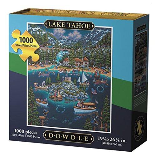 Dowdle Jigsaw Puzzle - Lake Tahoe - 1000 Piece