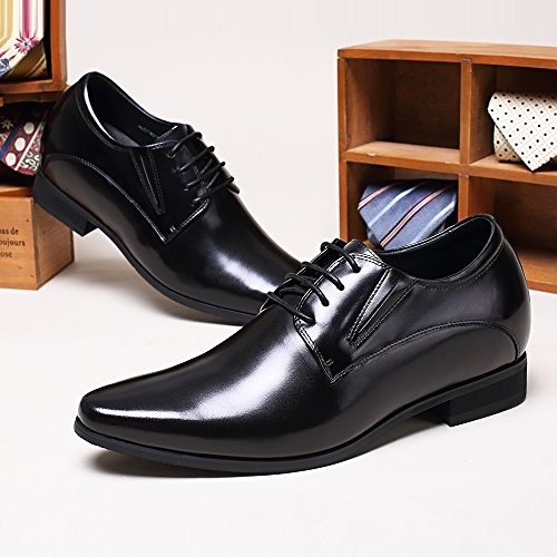 cm de Derby para CHAMARIPA ser Más Zapatos H62D11K011D Business Alto Cuero Hombre 8 fwpSA
