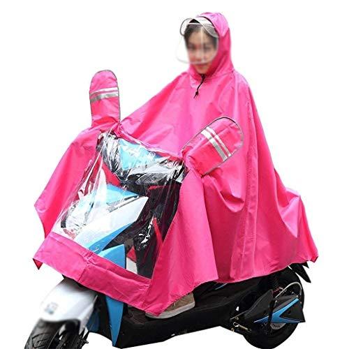 Casual Capuche Imperméable Couleur Raincoat 6 Battercake Electric Poncho Extérieur Cars Adulte Pluie Mode Unie Épaisse Dame À v4npgqvx