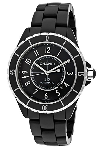 Chanel J12 Automatic Black Dial Black Matte High Tech Ceramic