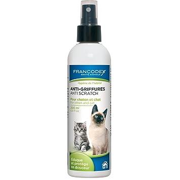Francodex Anti Arañazos para Gatos 200 ML: Amazon.es: Productos para mascotas