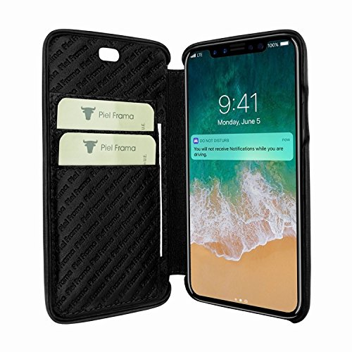 Piel Frama 794 Black Emporium Leather Case for Apple iPhone X