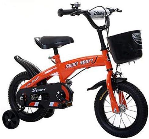 YSA キッズバイク子供用自転車12/14 / 16/18インチ男の子と女の子のサイクリング、子供に最適2-9歳緑赤と白ピンク