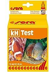 sera 04210 kolathårdhet test (KH), mäter tillförlitligt och exakt karbonathårdheten, för söt- och havsvatten, i akvariet eller dammen
