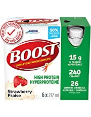 BOOST High Protein Meal Replacement Drink, Strawberry 24 x 237 ml