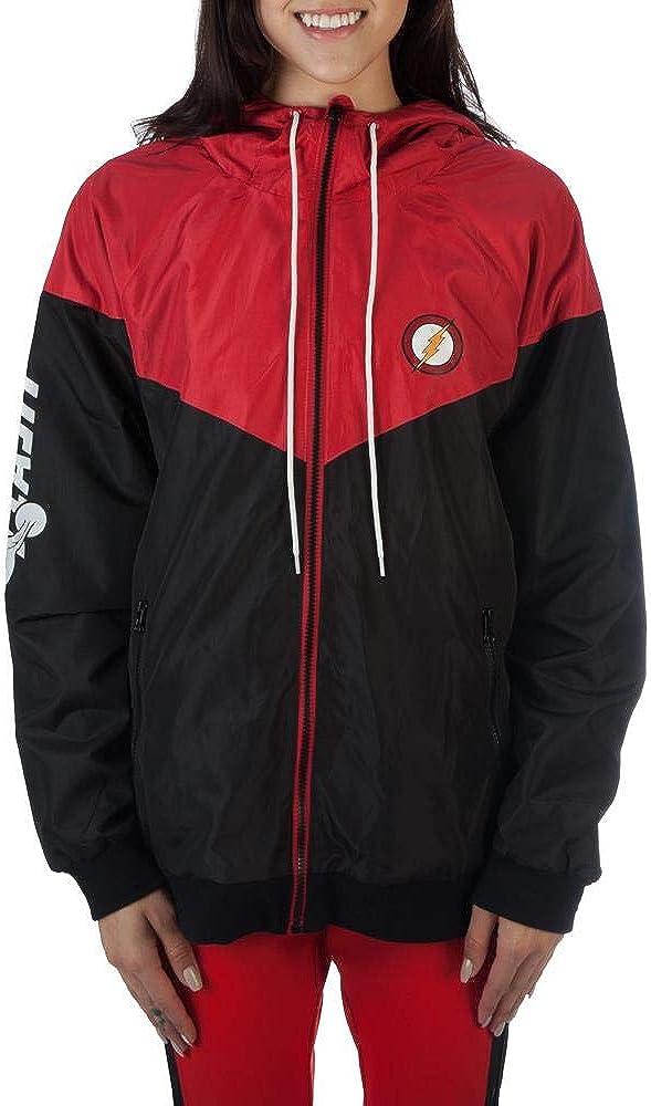 Flash Windbreaker DC Comics Jacket Flash Gift - DC Comics Clothing Flash Jacket