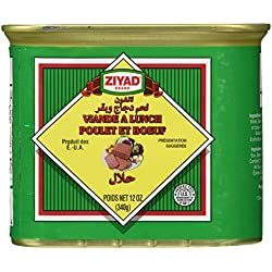 Ziyad Luncheon Halal Meat, Chicken/Beef, 12 Ounce