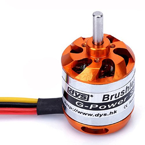 DYS D2836 1120KV Brushless Motor 2-4S Outrunner Motor for RC Models FPV Multirotor Quadcopter by DYS