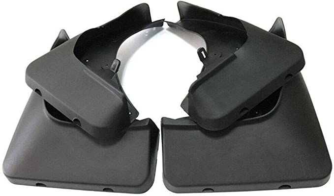 OEM Set Car Splash Guards Mud Guards Flaps FOR 2014-2018 BMW X5 F15 With Pedal