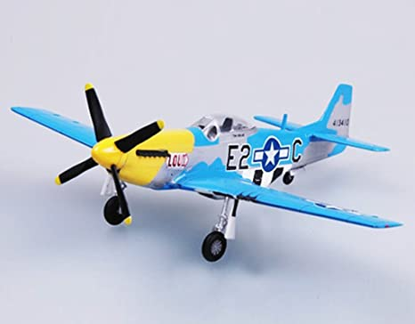 Amazon.com: WWII US aviones 1/72 P51 Mustang Fighter avión ...