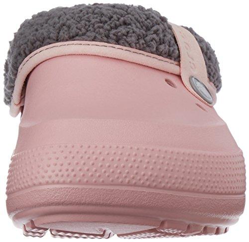 Blitzen Clog Pearl Pink Lined Crocs II Smoke Unisex an6xqI4wB