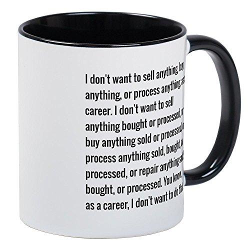 CafePress Lloyd Dobler Quote Mugs Unique Coffee Mug, Coffee Cup
