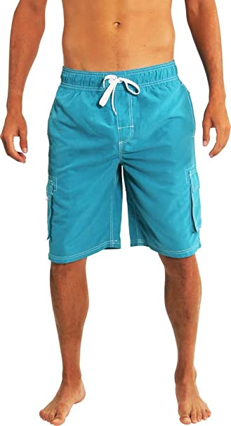 64eb276435 NORTY Mens Big Extended Size Swim Trunks - Mens Plus King Size ...