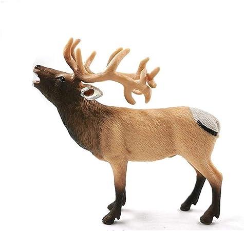 Sinzong Adornos De Jardin Figura De Ciervo Animal Modelo DIY Decoración del Hogar Miniatura Accesorios De Decoración De Jardín De Hadas Moderno 6: Amazon.es: Hogar