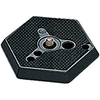 Manfrotto 030VHS- 14 Hexagonal Quick Release Plate with VHS Locating Pin 1/4-Inch - Replaces 3159