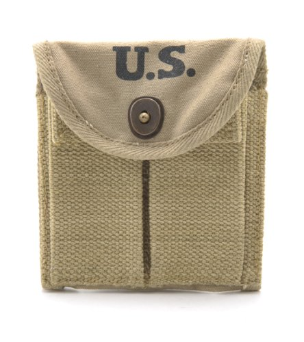 World War Supply Khaki M1 Carbine Buttstock Type Pouch for sale  Delivered anywhere in USA