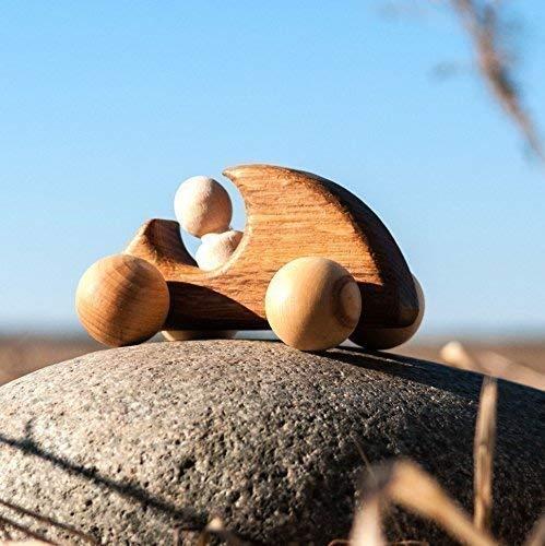 Wooden toy MINI sportcar - wood car - baby toys - baby car Handmade toy
