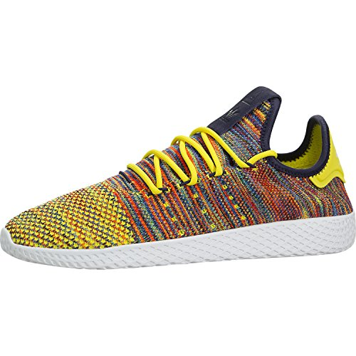 1b216692b2217 Galleon - Adidas Men s Pharrell Williams Tennis HU Semi Frozen Yellow Noble  Ink White BY2673 (SIZE  11)