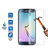 Galaxy S7 Edge Screen Protector,Galaxy S7 Edge Tempered Glass Screen Protector, Kaseberry Kasedd Full Coverage 3D Tempered Glass Screen Protector HD Clear Bubble Free - 1 Pack