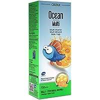 Ocean Multi Omega 3 Şurup (Multi Vitamin, Zinc, Fish Oil) 150 Ml