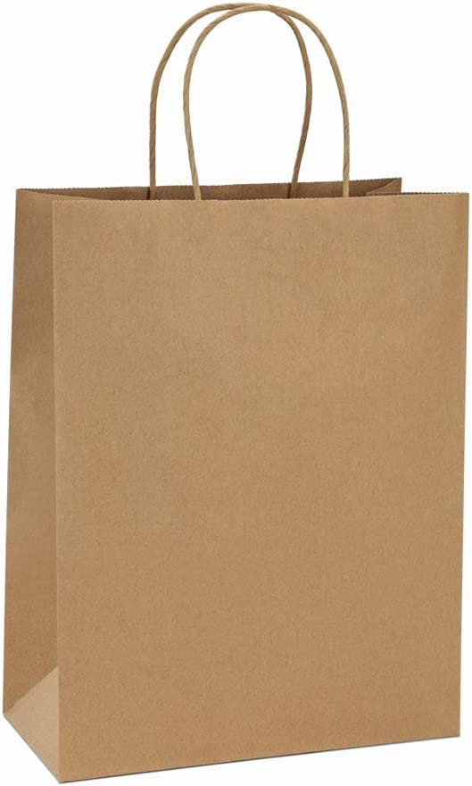 Eco friendly kitchen products: brown bags