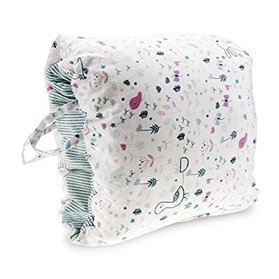 Epltion Travel Nursing Pillow/Slip On Arm Breastfeeding Pillow for C-Sections Mom/Portable Washable Nursing Breastfeeding Pillow