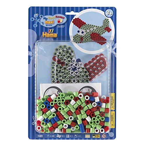- Hama My First Maxi Beads - Aeroplane Starter Kit by