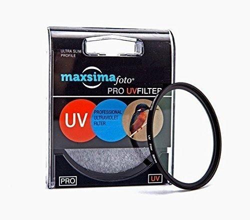 4 opinioni per Maxsimafoto- Protezione Filtro UV da 40.5mm per Camera Sony Alpha A5000 A6000